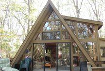 Triangle  Trojúhelník / Stavba Dřevo