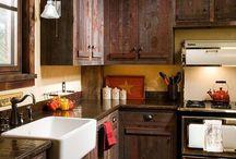 Mobili rustici da cucina