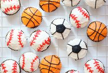 Sports party  / by Jennifer Haymaker