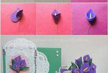 χειροποιητα λουλουδια