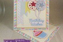 Birthday Party - Sara Signature Collection / Create fabulous Birthday projects for all ages with the Birthday Party collection!