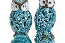 Owl ceramic