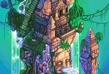 Isometric Pixel Art / Isometric Pixel Art