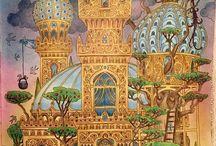 Zemlja Snova coloring book