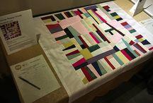 Modern Quilt Design / Graphic design using textiles