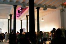 Factoría Habana / Factoría Habana es un espacio de arte experimental, nuevas vanguardias y arte conceptual en el centro histórico de La Habana.  Inaugurado en diciembre de 2009, el centro está dirigido por la galerísta española Concha Fontenla y adscrito a la Oficina del Historiador de la Ciudad. / by Paseos por La Habana