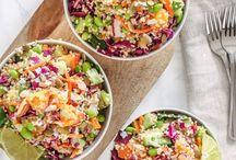 quinoa salads/recipes