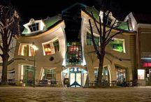 Crooked House of Sopot, Poland