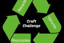 Creative Challenge Hostess Favorites / Creative Craft Challenge Link Party -the upcycle/recycle/repurpose party where the challenge materials for the month is issued the first Friday for the month. Each week hostesses will pick their fav!