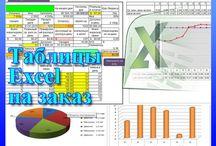 Таблицы Excel на заказ любой сложности / Создаем волшебные, умные, автоматизированные таблицы в Excel для автоматических расчетов числовых данных и автоматической обработки больших объемов текстовой информации для представления их в удобном для анализа виде. http://kompkurs2000.ru/tablitsy_excel_na_zakaz.php