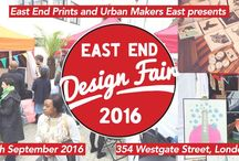 EAST END DESIGN FAIR 2016 / A TWO DAY FREE OUTDOOR EVENT IN HACKNEY IN SEPTEMBER 2016. URBAN MAKERS EAST AND EAST END PRINTS COLLABORATE TO BRING YOU DESIGN INSPIRATION.