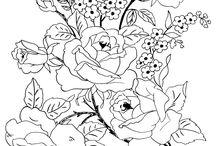 Flowers - art, drawings, doodles, prints