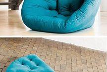 sofá almofada