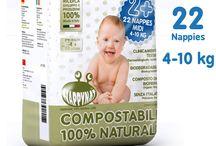 Pannolini biodegradabili e compostabili