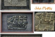John Maltby (1936-) szobrász / sculptor