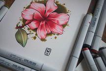 Flores Copic