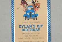 Tuckers Trucking Birthday / by Shelly Miller