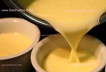 Salsas y cremas