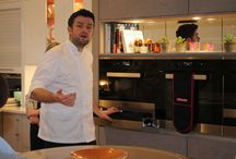 Our cookery demonstrations / We're more than just a kitchen company, we also host events with the UK's top chefs
