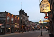 Deadwood, SD Events & Entertainment / Historic Deadwood in the Black Hills of South Dakota.