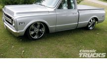 My favorite truck(: (69 chevy)  / by Brittany Rae