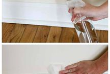 Cleaning tips / DIY hacks for quick and easy solutions for cleaning. Ideas | recipes | shortcuts | natural alternatives.