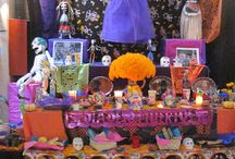 Dia de los muertos in México