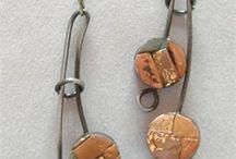 Wire Wrap earrings/orecchini