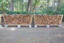 Holzlagern