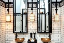 Art Deco Interior bathroom
