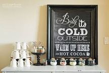 Hot Chocolate Party / by Gen Paulsen