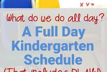 Kindergarten here I come! / Basic K planning and info guides
