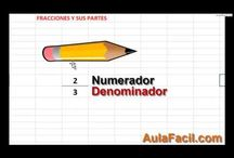 Matemáticas (fracciones)