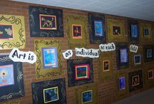 Bulletin Boards and Hallways / by Mary Beth Griggs