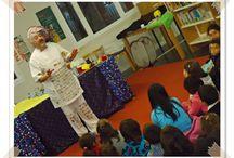 XV Aniversario de la Biblioteca José Luis Sampero / El pasado día 13 de diciembre celebramos el aniversario con cuentacuentos, talleres infantiles, recital de poesía, y una proyección en homenaje al gran humanista