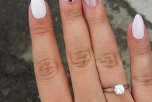 My _ nails.