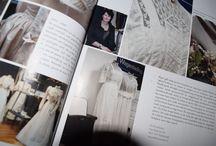 Magazines / Magazines waar de Bruidssalon in vermeldt staat.