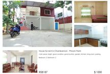 House for rent in Chamkarmon - Phnom Penh / House for rent in Chamkarmon Phnom penh, Cambodia.