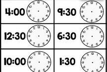 Matte klokks
