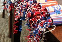 Patriotic Bike Decorating
