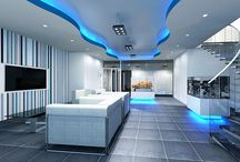 London Car Showroom / Car showroom design for a leading car company in London, to transform their existing dated office reception area for their global buyers into a funky, modern space.