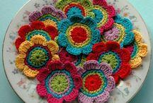 Crochet Flores (Flowers)