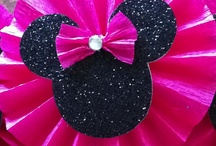 ~ Minnie & Mickey Mouse Party ~ / by Jodie Valenti