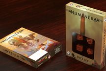 Numenera Dice Set / Official set of dice for Monte Cook Games Numenera setting