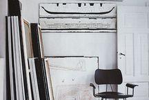 Art studios and inspiration