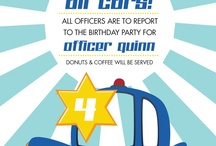 Party: Police-themed Birthday