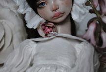 Love... / Porcelain bjd art doll
