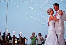 Outdoor wedding lighting / by Katleen Armbruster