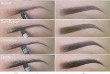 Obočí make-up
