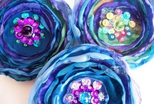 Textilní květinářství